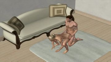 136 Sex Positions – DoggyStyle: Frog Leap