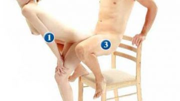 95 Sex Positions – Standing: The Electric Chair
