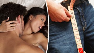 Six best sex positions for men with SMALLER penises
