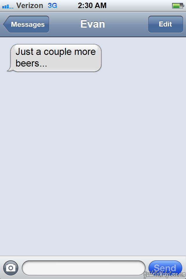 10 Texts Every Guy Sends