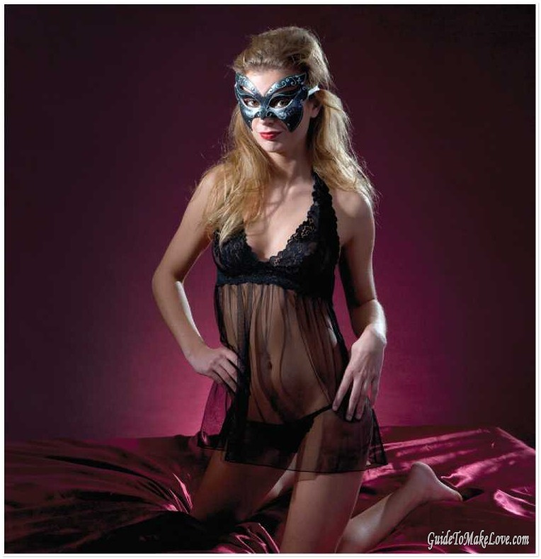 365 Sex Thrills Positions, Tricks and Techniques, chapter # 309: Masquerade