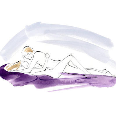 6 Sex Positions You Can Do Under a Blanket When It's Cold AF Outside