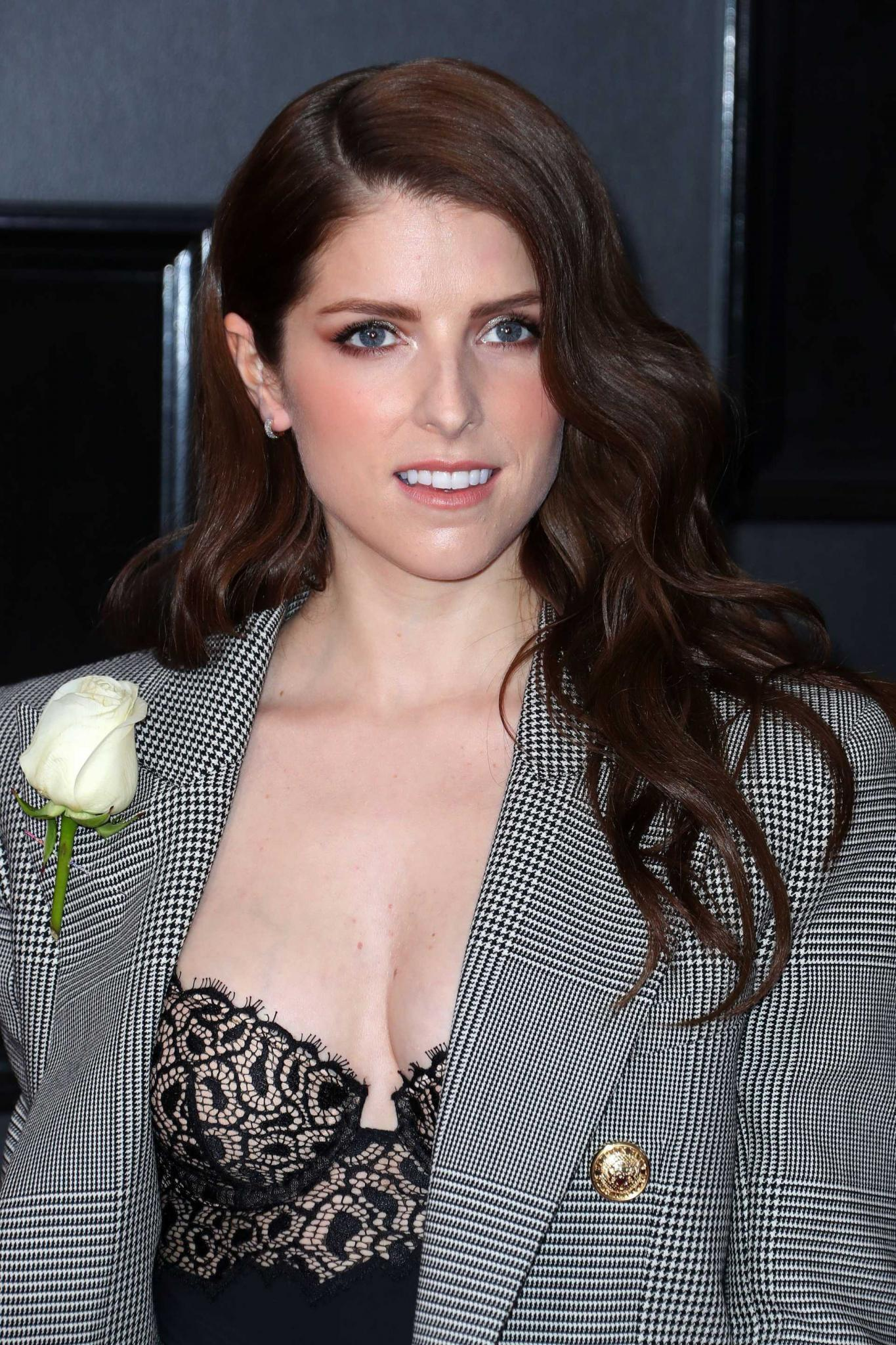 Anna Kendrick at 60th Annual GRAMMY Awards in NYC