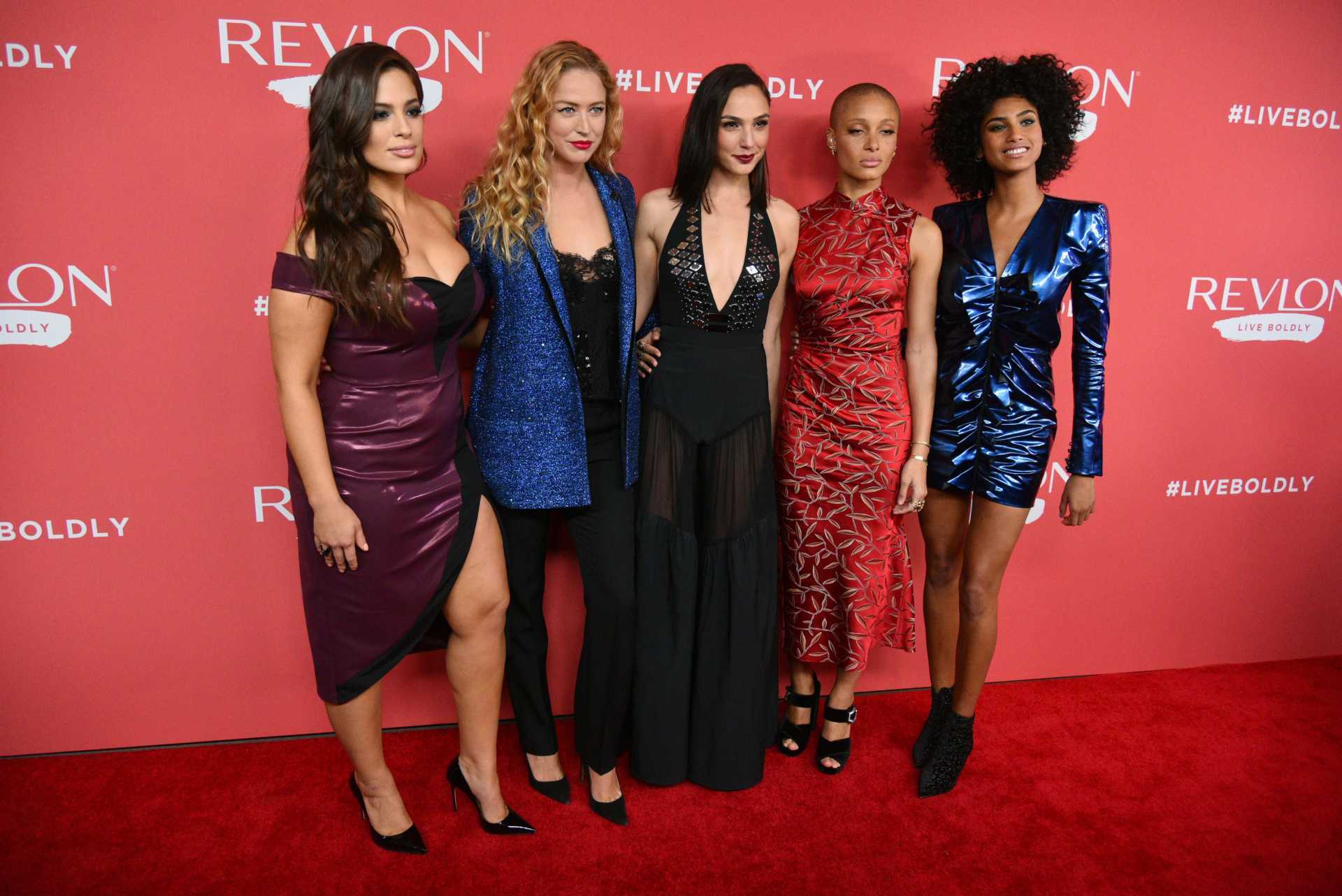 Ashley Graham at Revlon's 'Live Boldly' Campaign Launch in NYC
