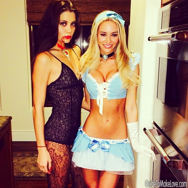 Bryana Holly and her insanely sexy costumes are the single greatest thing about Halloween
