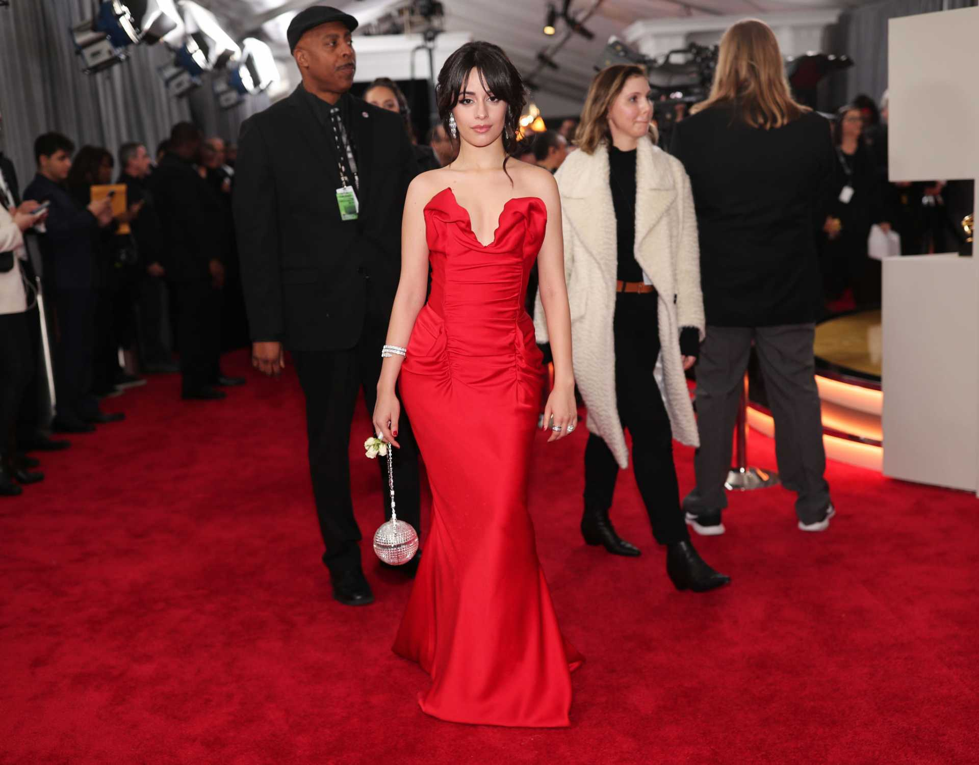 Camila Cabello at 60th Annual GRAMMY Awards in NYC