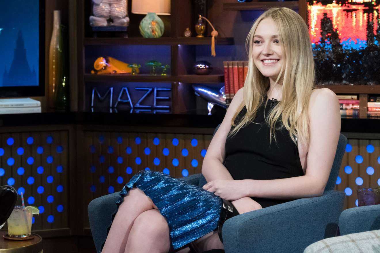 Dakota Fanning at Watch What Happens Live in New York