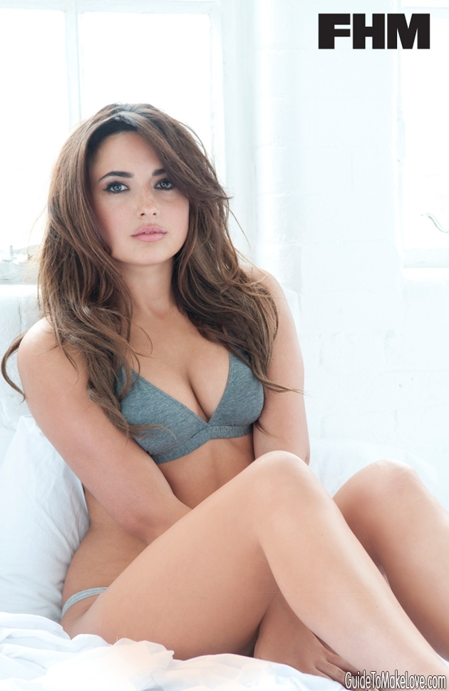 EXCLUSIVE SHOOT: Nadia Forde, the sexy FHM Girlfriend going into the I'm A Celeb jungle