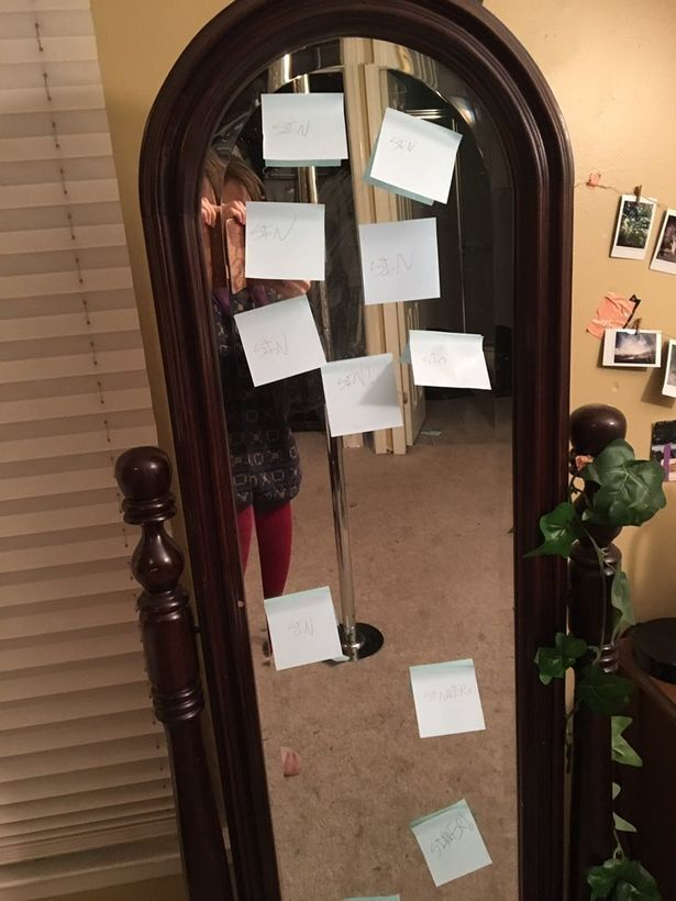 Girl leaves terrifying notes all over sister's house after hearing her having sex with her boyfriend