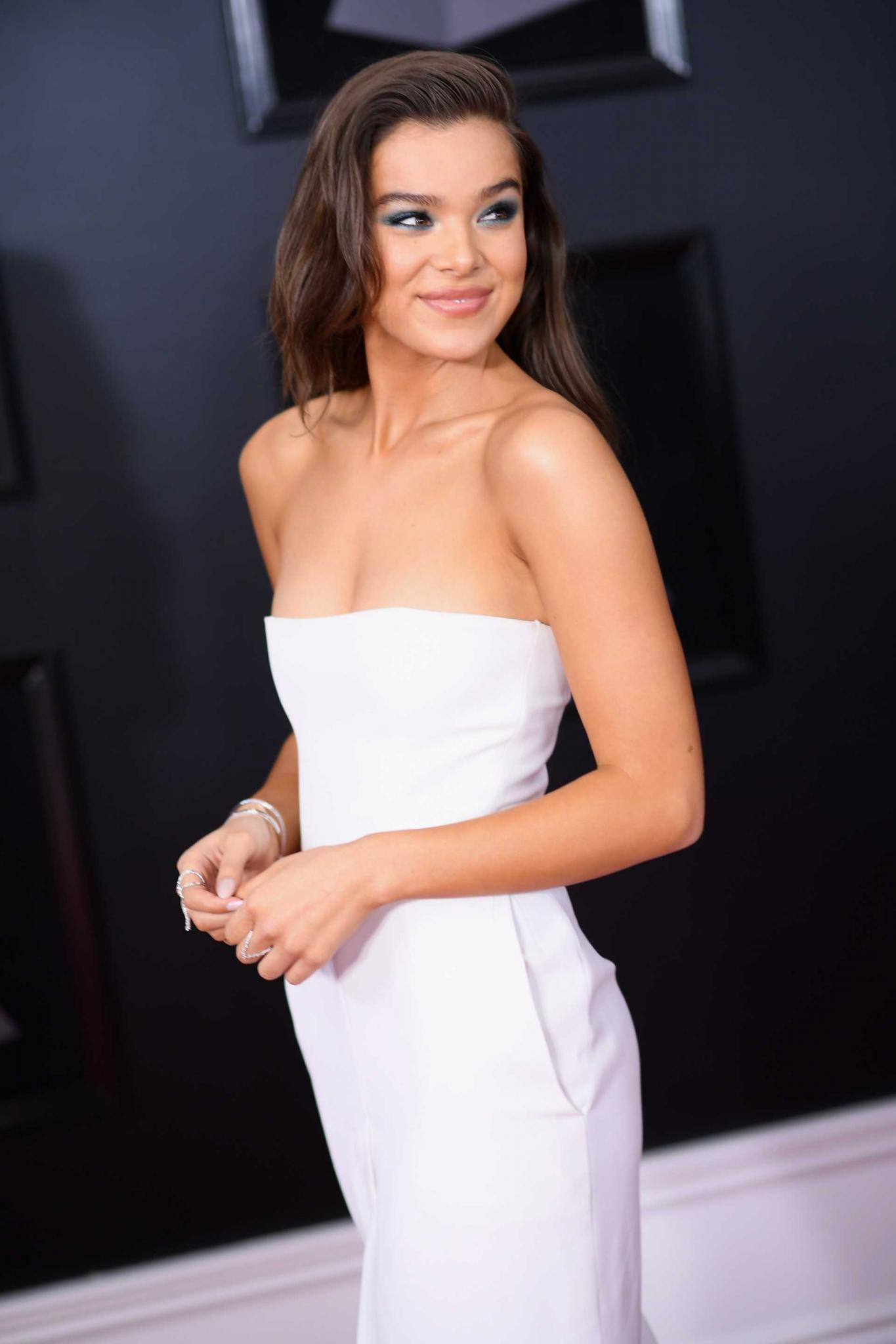 Hailee Steinfeld at 60th Annual GRAMMY Awards in NYC