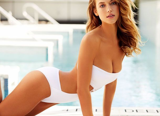 Is Hannah Davis the proud owner of the sexiest ever Sports Illustrated Swimsuit cover?