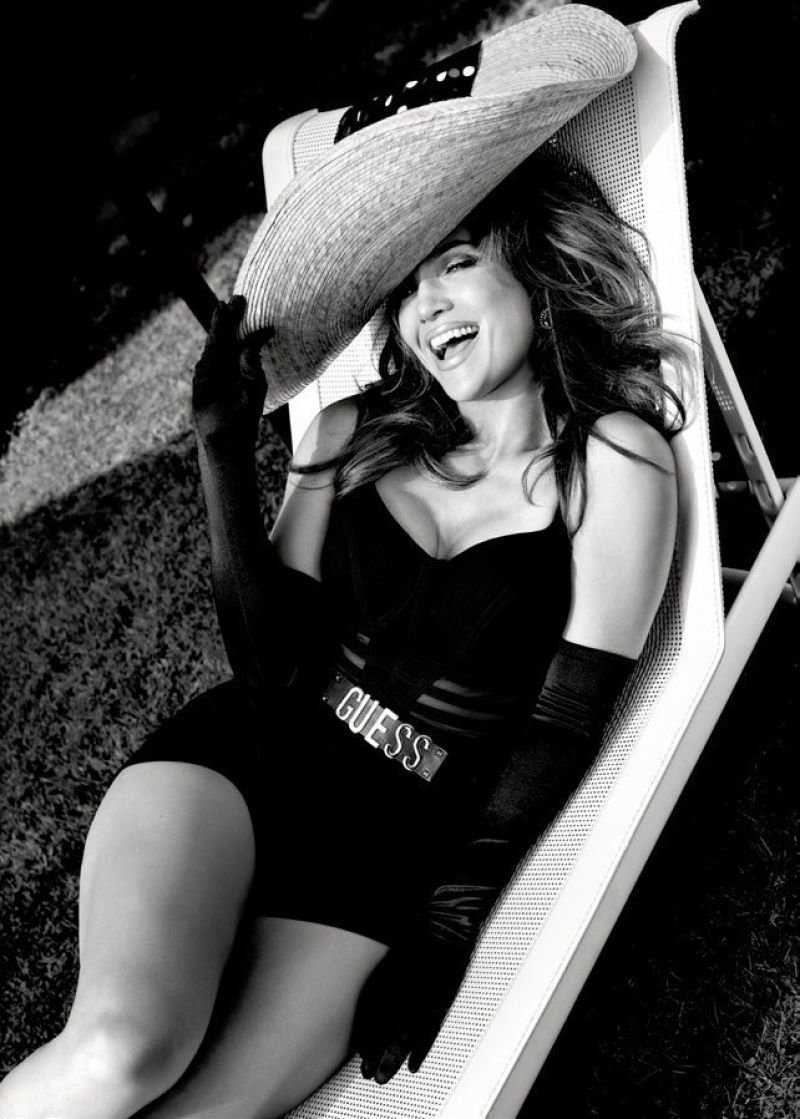 Jennifer Lopez in Guess Campaign Spring 2018