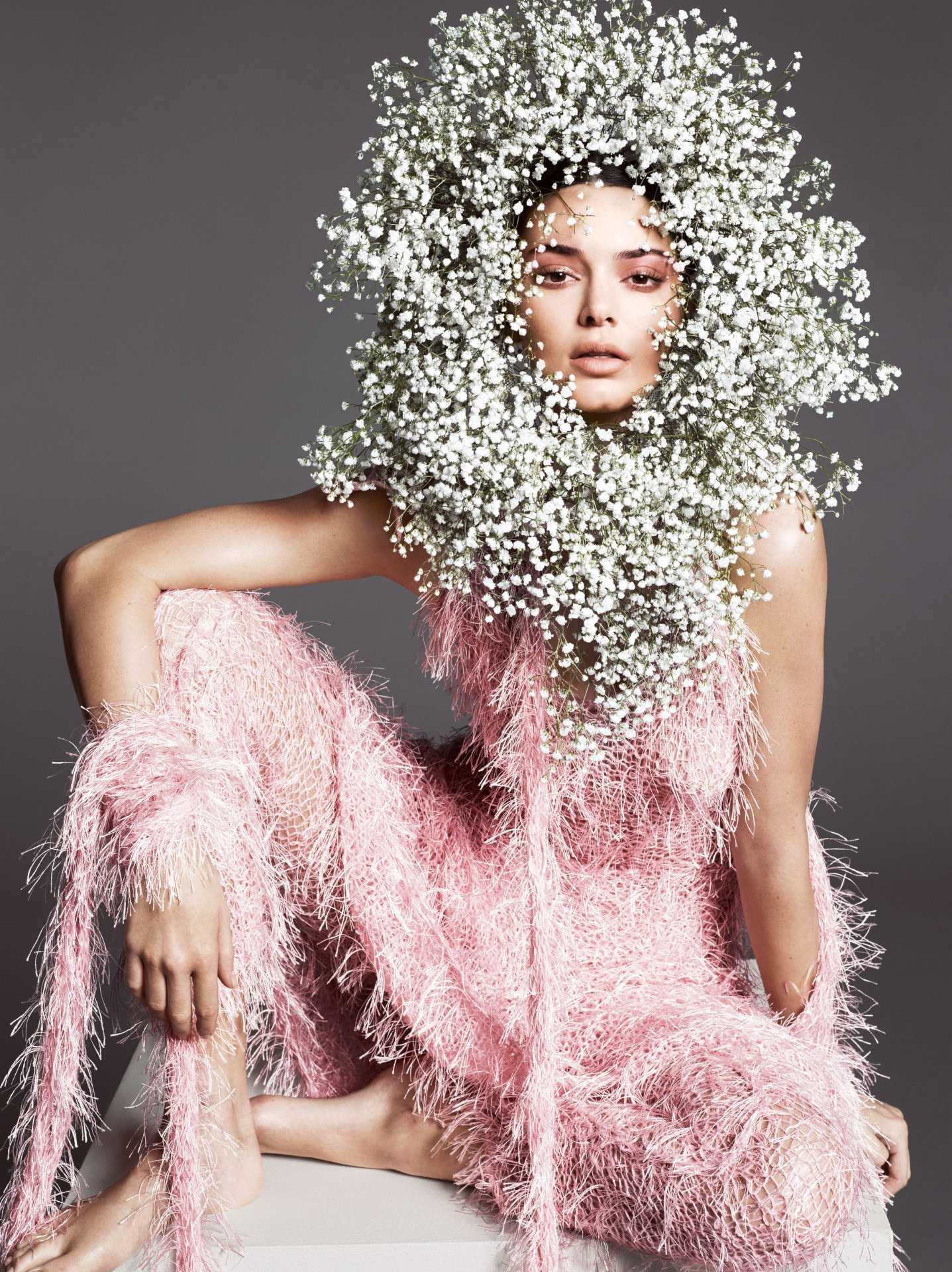 Kendall Jenner in Vogue Magazine Photoshoot – April 2018