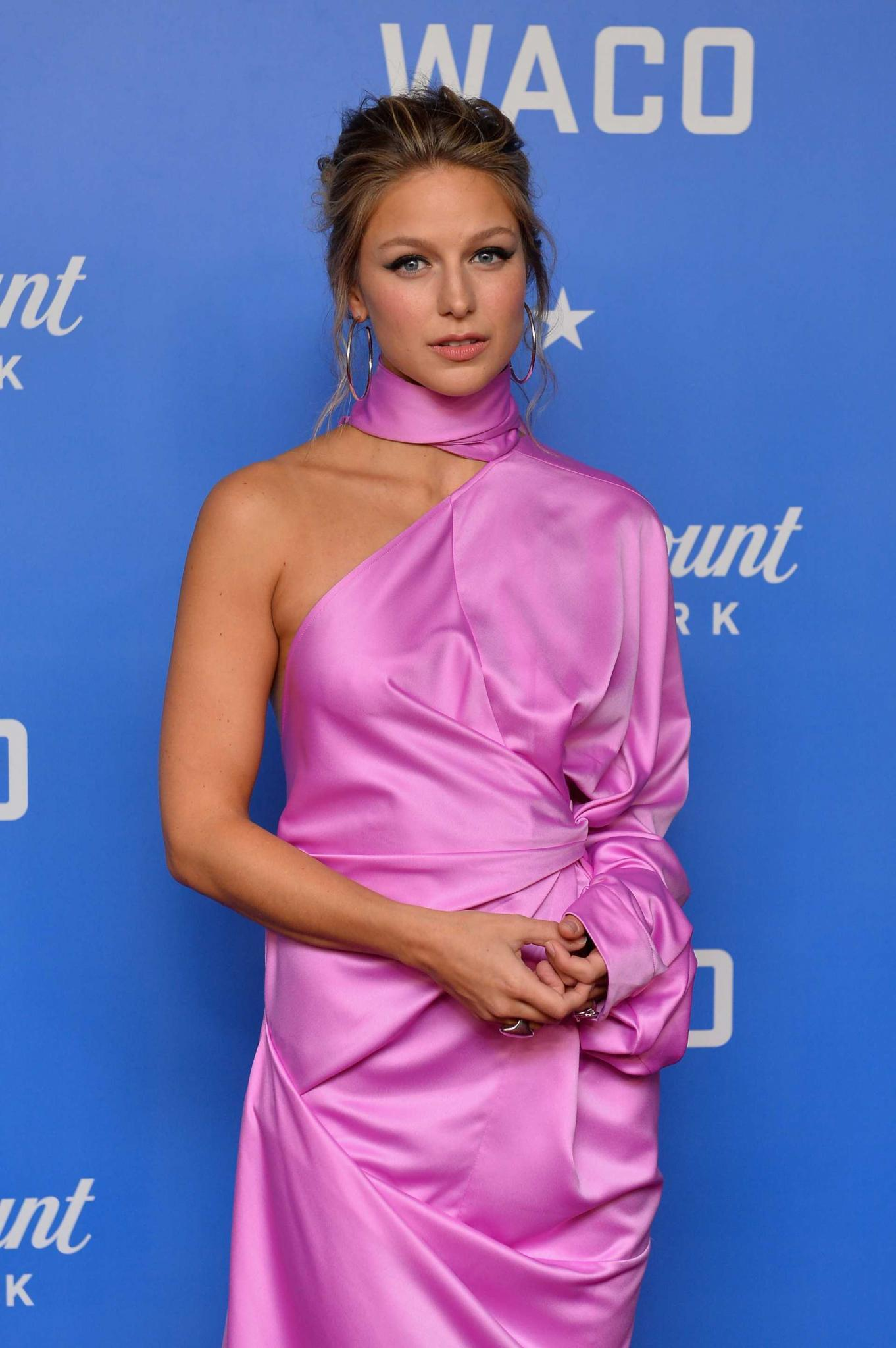 Melissa Benoist at the Premiere of 'Waco' in NYC
