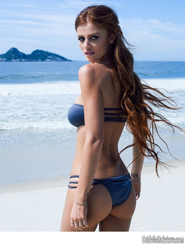 Snowing where you are? This bikini-clad Brazilian will melt away all your winter blues