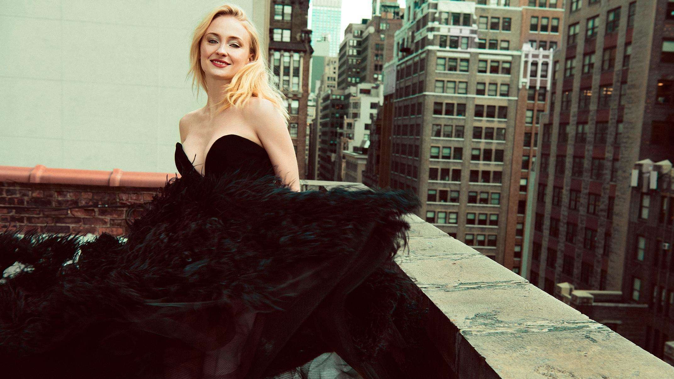 Sophie Turner in The Sunday Times By Austin Hargrave