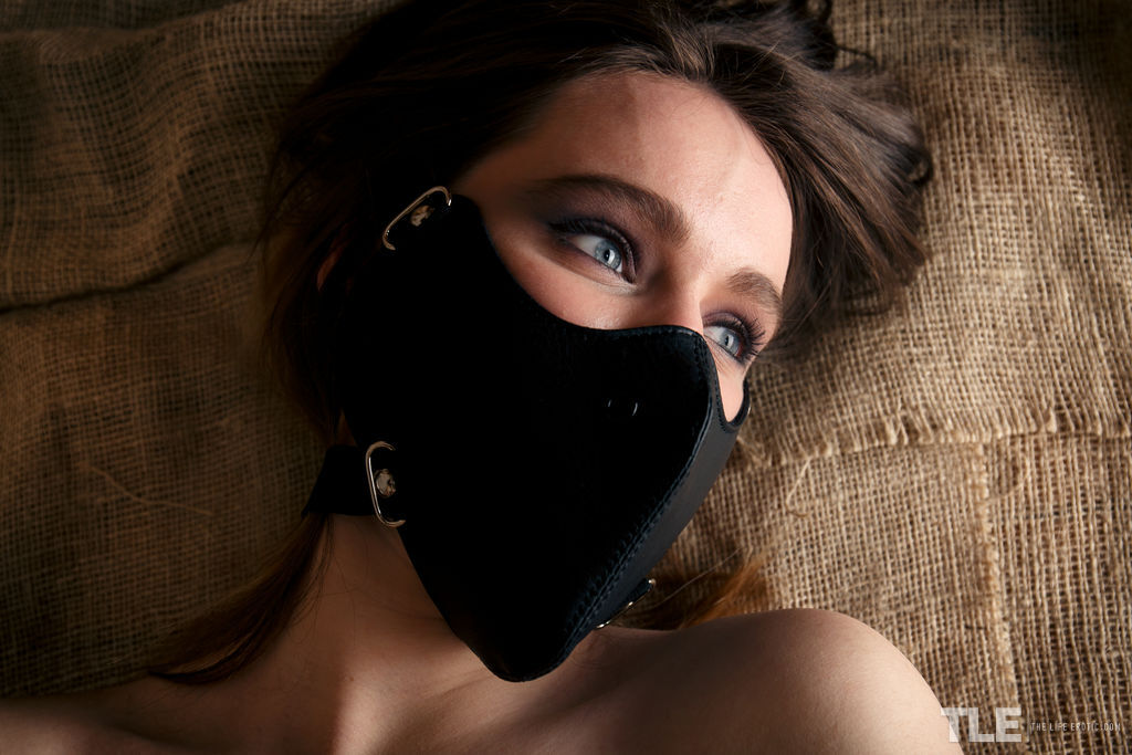 The Life Erotic - Adriana Zet in Leather Mask 1