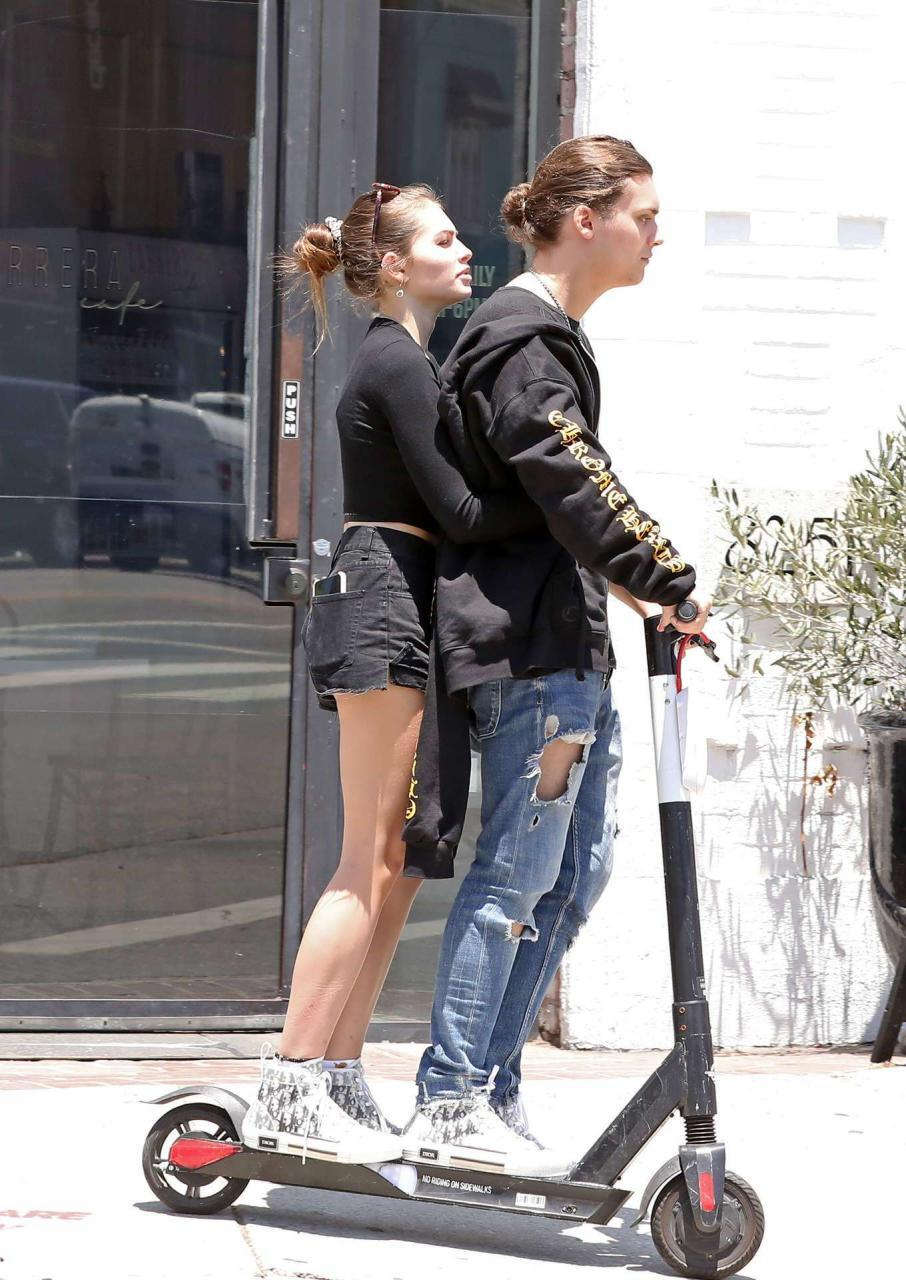 Thylane Blondeau Leggy, Out in West Hollywood