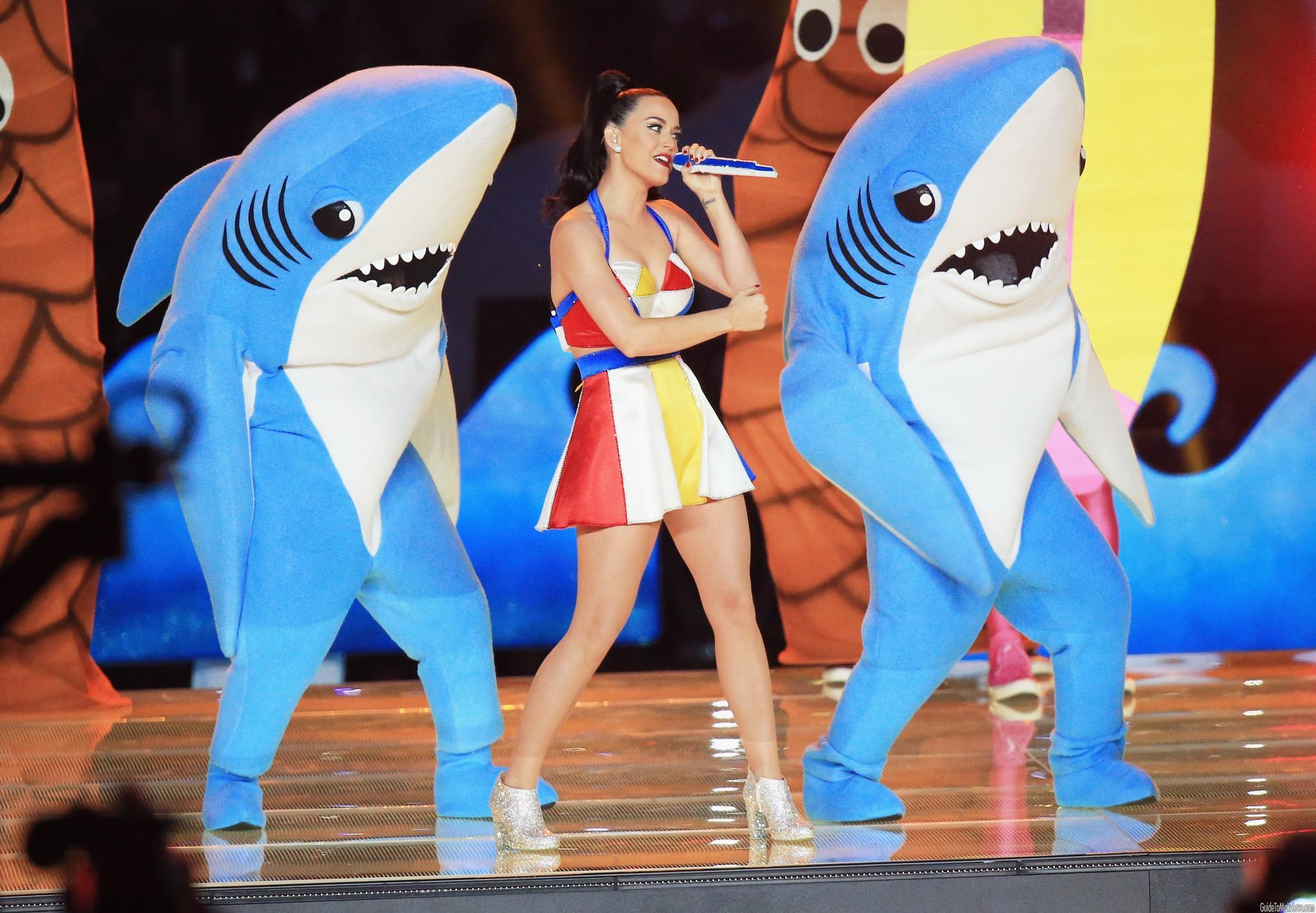 Was the Super Bowl half-time show the craziest thing Katy Perry has ever done? (probably not)